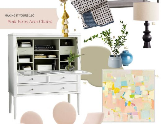 Making it Yours (MiY) 16C: Pink Elroy Chairs