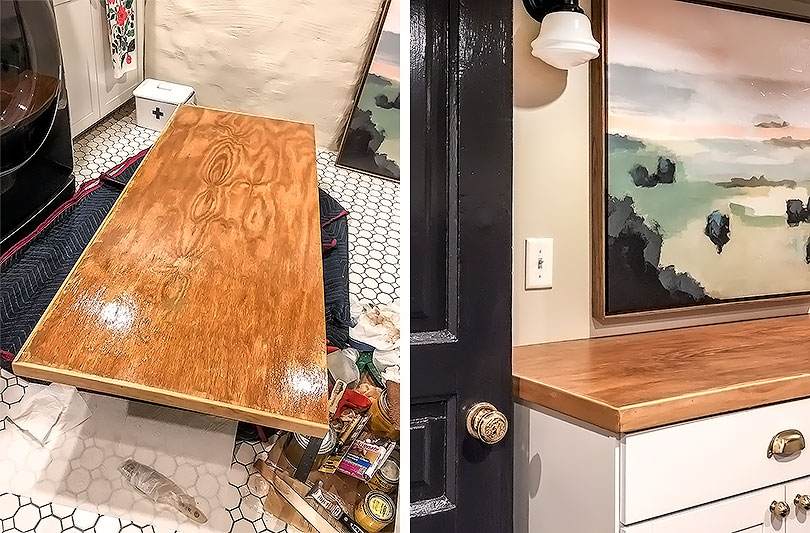 Making DIY Plywood Countertops   Making it Lovely