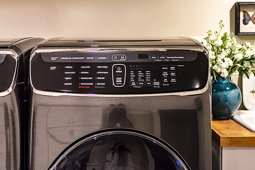 Samsung FlexWash Washer and FlexDry Dryer