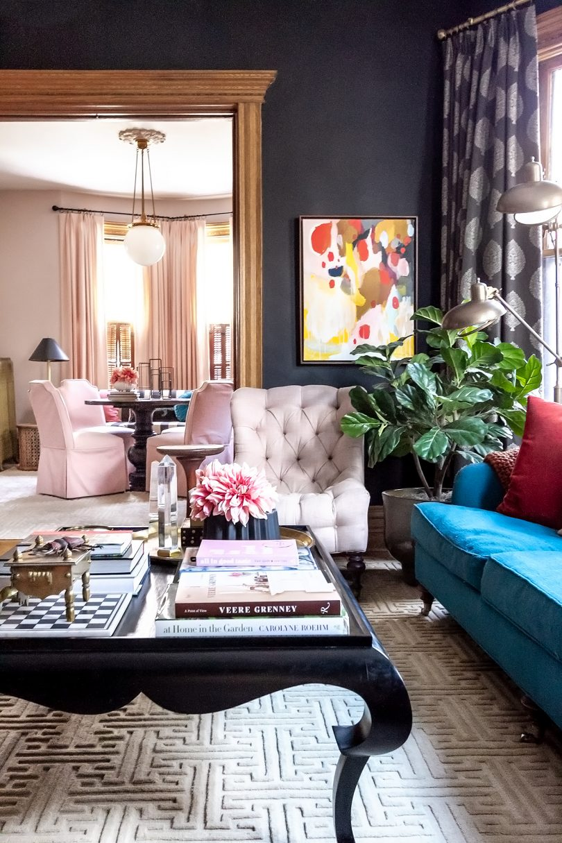 Double Parlor, The Lovely Victorian | Making it Lovely