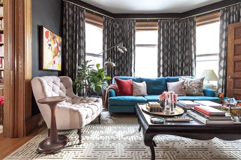 Black Living Room | Making it Lovely