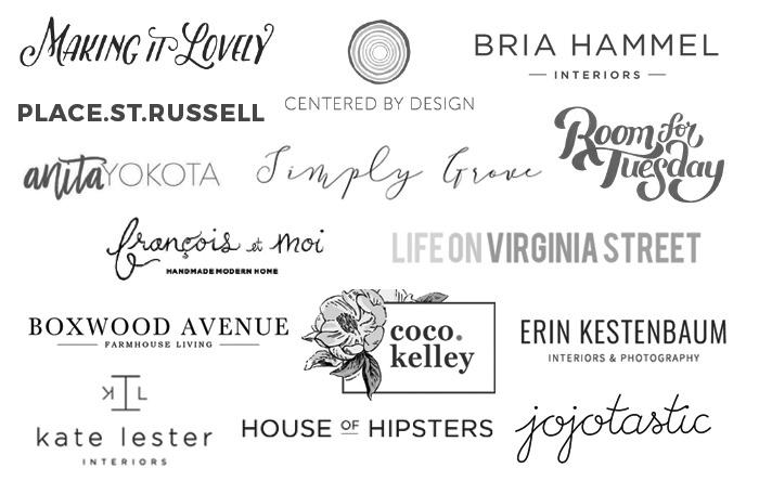 Blog Hop Cookie Swap Logos
