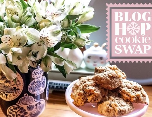 Coffee Walnut Cookies - Blog Hop Cookie Swap | Making it Lovely
