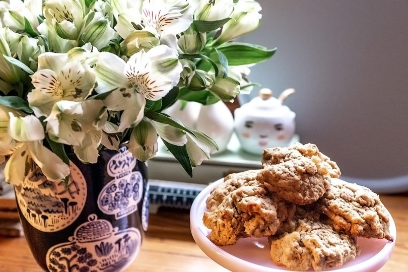 Coffee Walnut Cookies - Blog Hop Cookie Swap | Making it Lovely