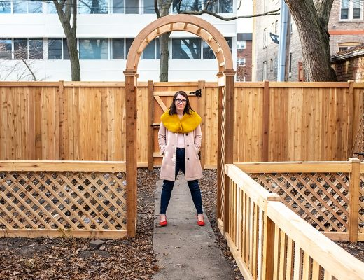 Our New Cedar Fence | Making it Lovely