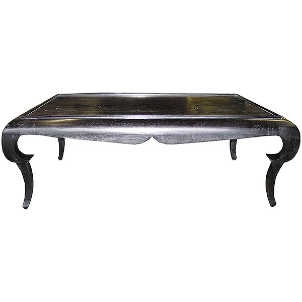 Rena Black Coffee Table, Noir
