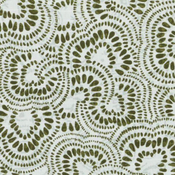 Olive Jax Fabric, Tilton Fenwick for Duralee