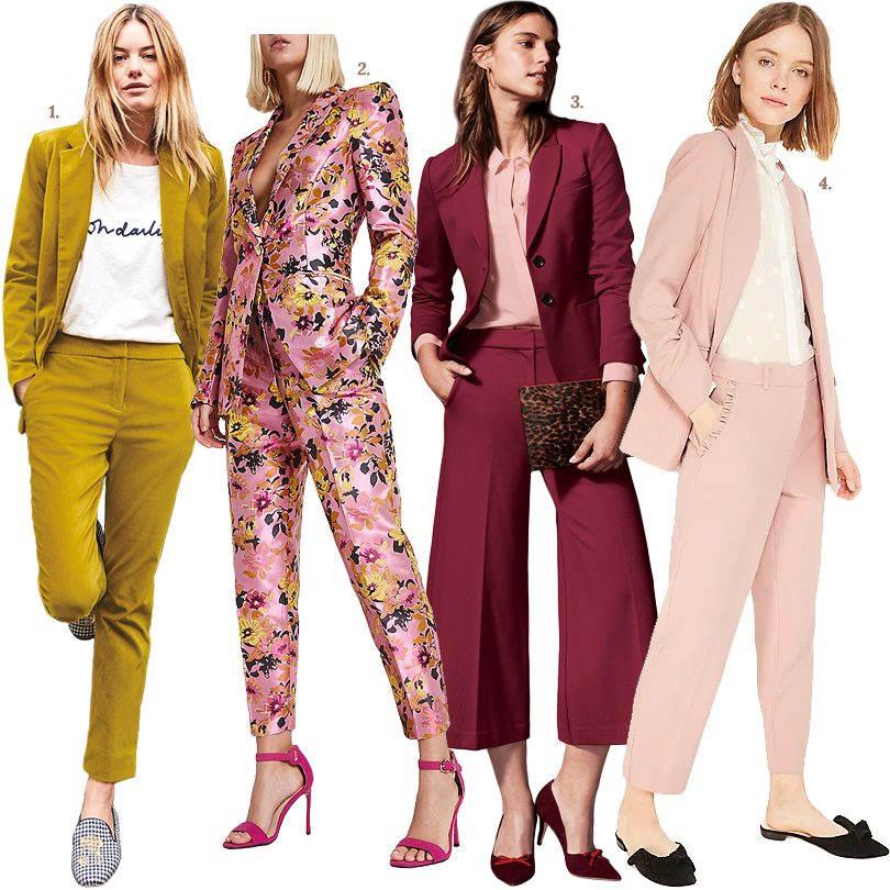 Well-Suited Colorful Womens' Suits | Making it Lovely