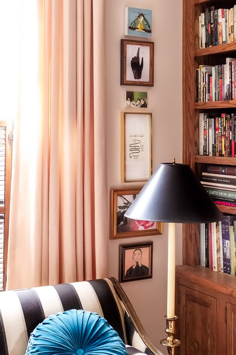 Column of Art and Prints from Artfully Walls   Making it Lovely