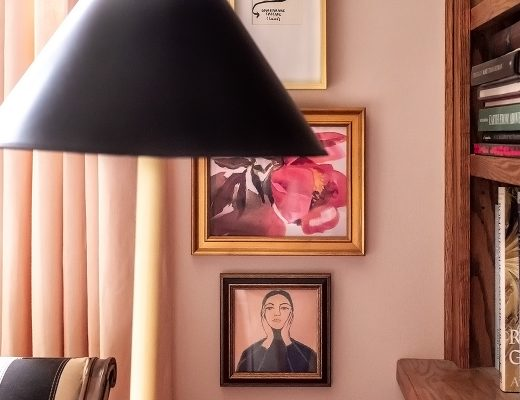 Peony and Maria Callas prints from Artfully Walls