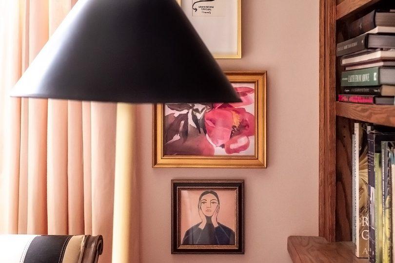 Peony and Maria Callas prints from Artfully Walls