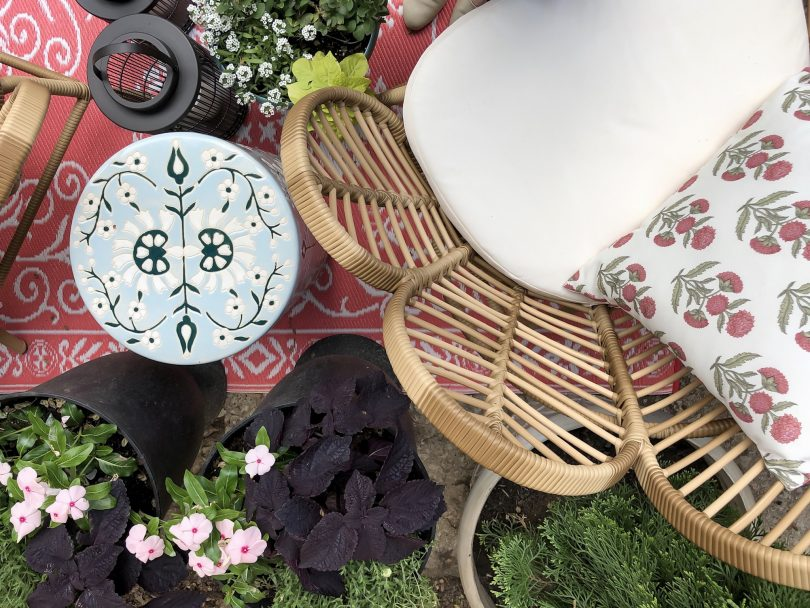 A Mix of Annuals and Perennials in Planters and Containers | Making it Lovely