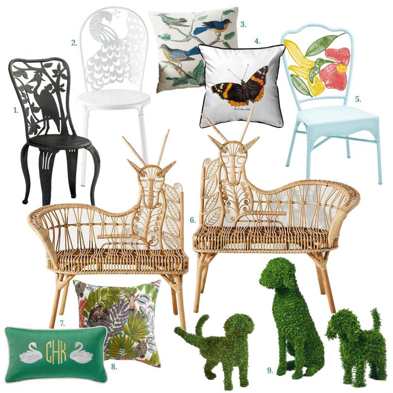Animal Outdoor Furniture and Decor | Making it Lovely