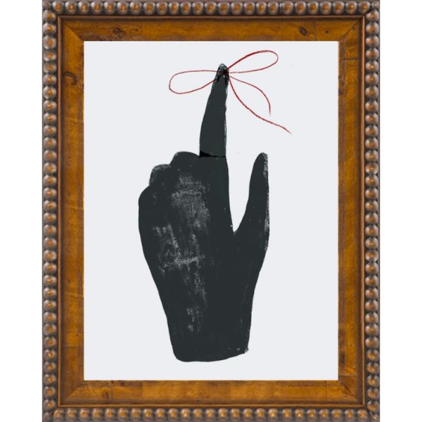 Tied Around Your Finger by Clare Owens from Artfully Walls