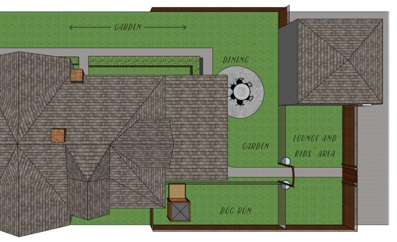 Backyard Outdoor Rooms