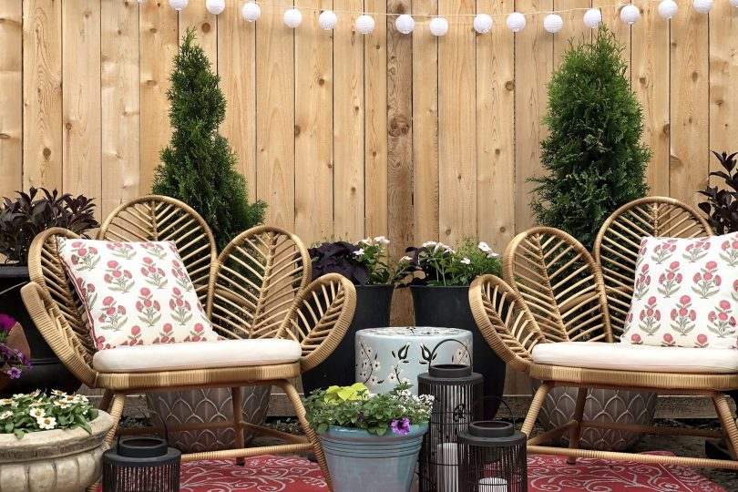 Creating an Insta-Worthy Backdrop Outdoors | Making it Lovely