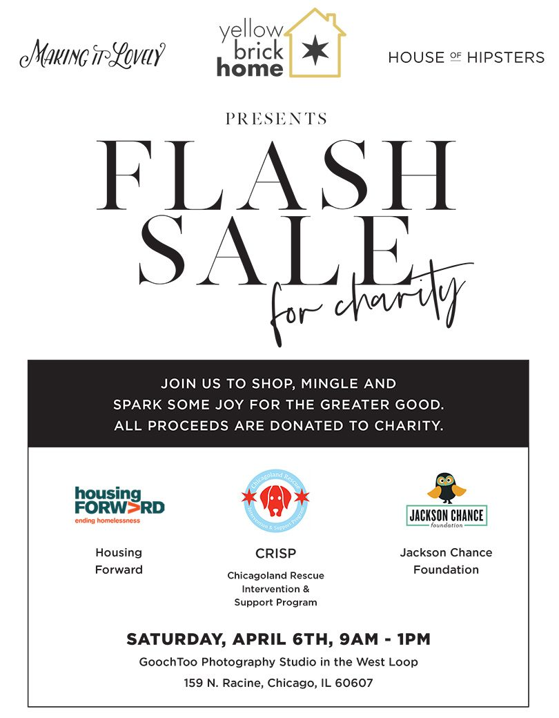 Flash Sale for Charity Chicago