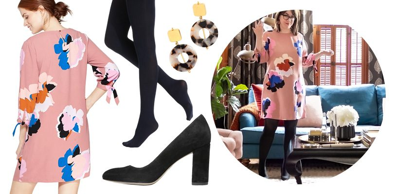 Floral Dress - #HouseTwinning | Making it Lovely