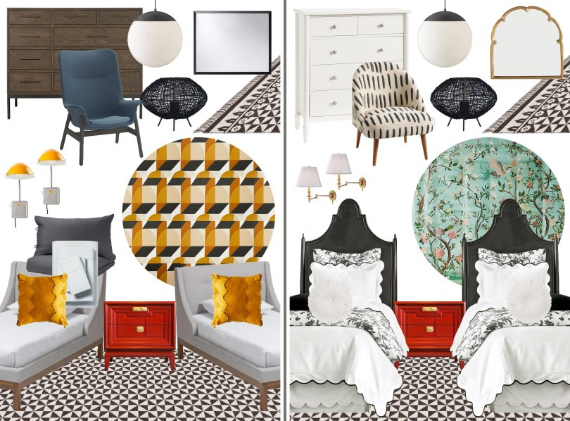 Tween Boys' and Girls' Bedroom Designs | Making it Lovely