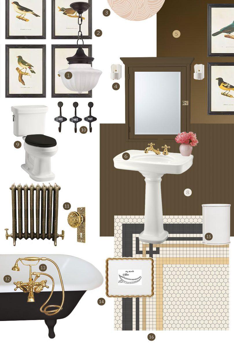 Bathroom (Second Floor) Design Plan