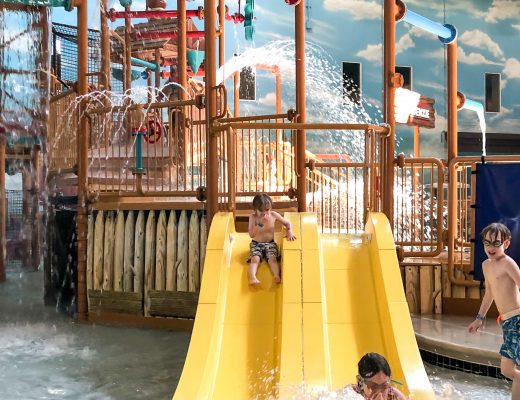 Splashing at Great Wolf Lodge