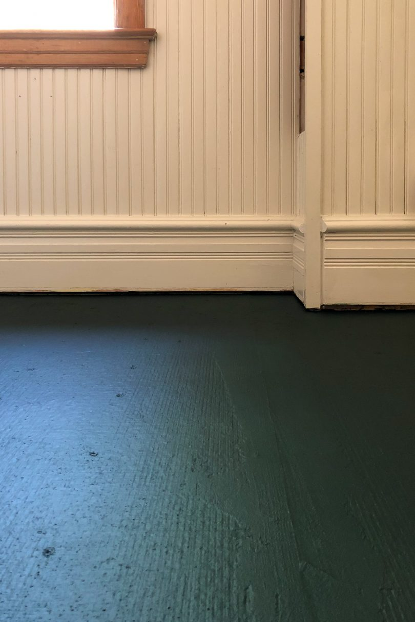 Mapai Aquadefense on Cement Backer Board Floor