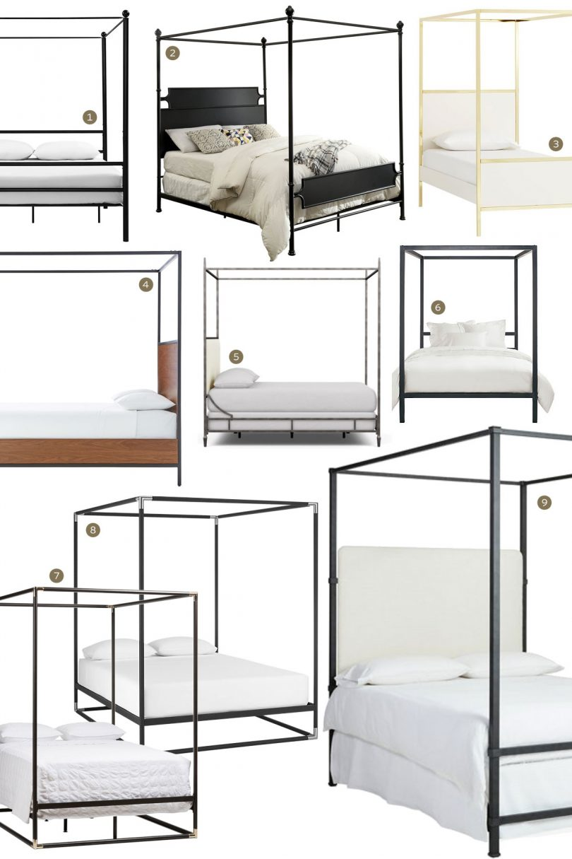 Canopy Beds - Boxy Metal