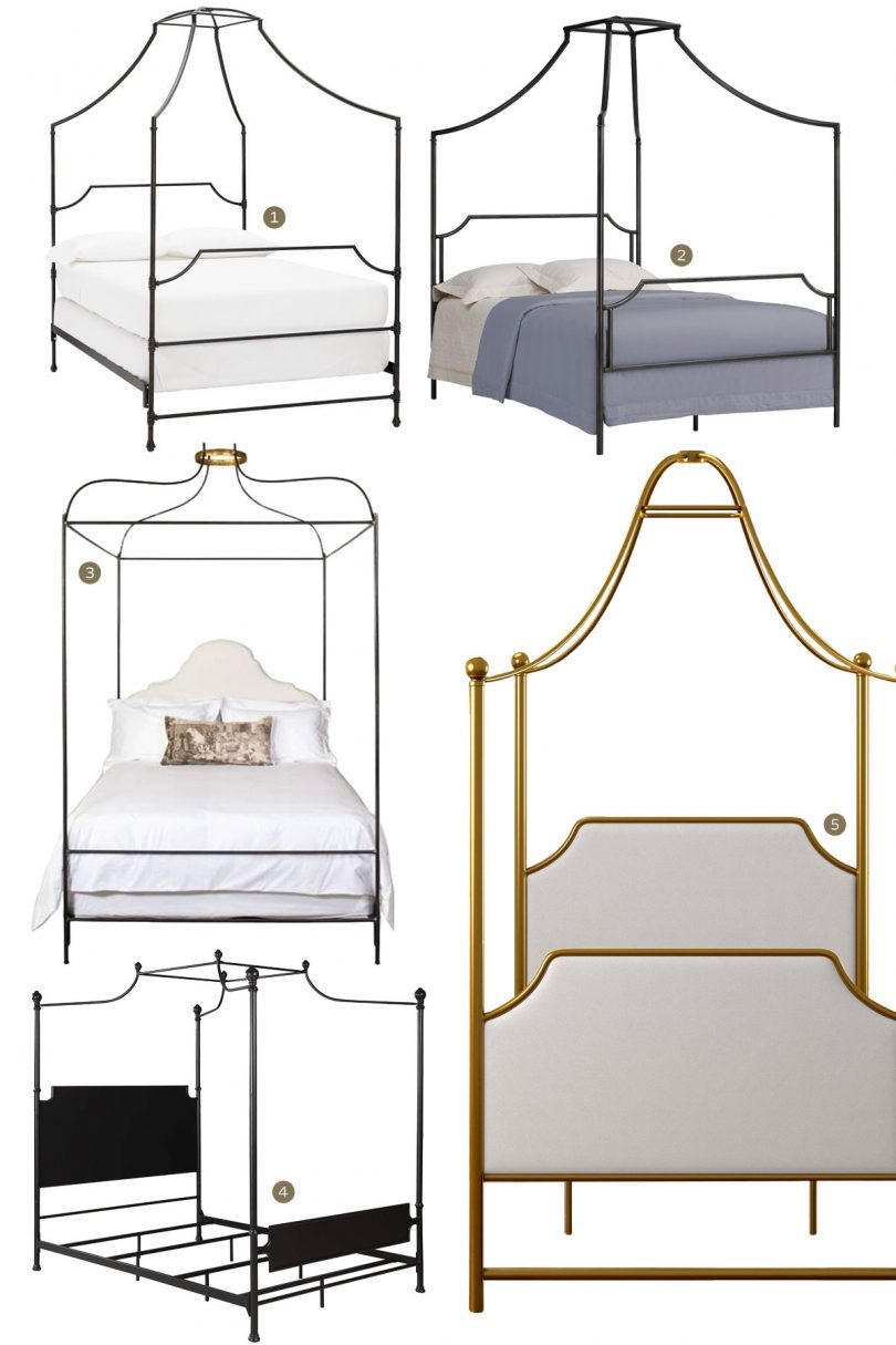Canopy Beds - Curved Metal