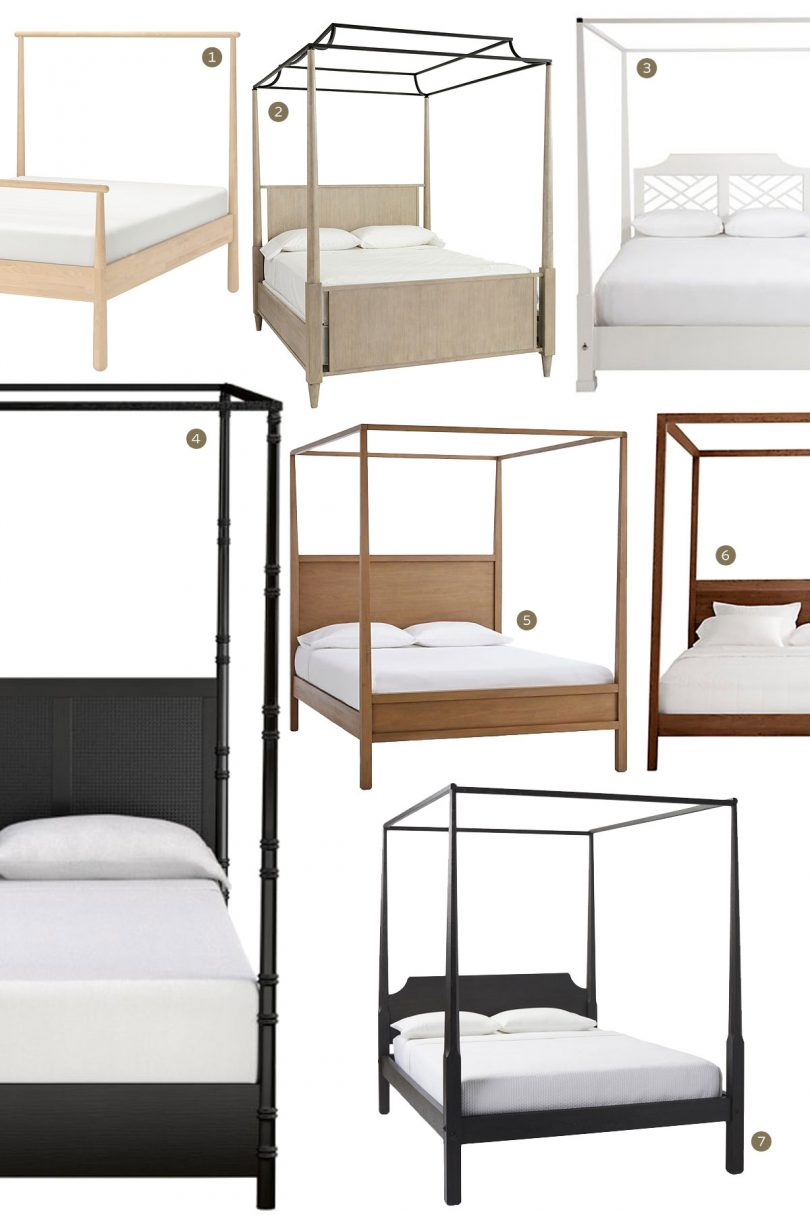 Canopy Beds - Wooden