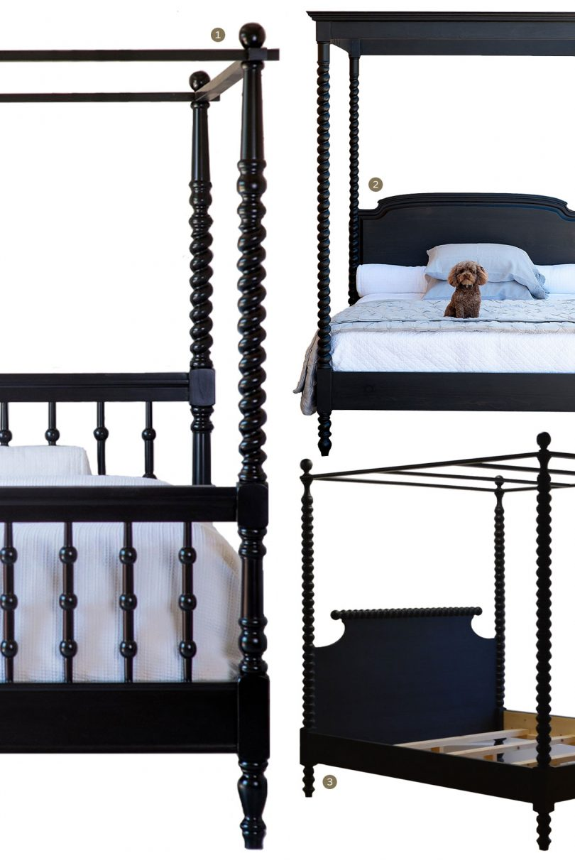 Canopy Beds - Wooden Spindle