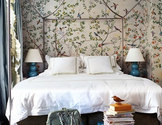 Miles Redd Bedroom with Canopy Bed