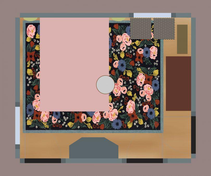 Eleanor's Bedroom Layout