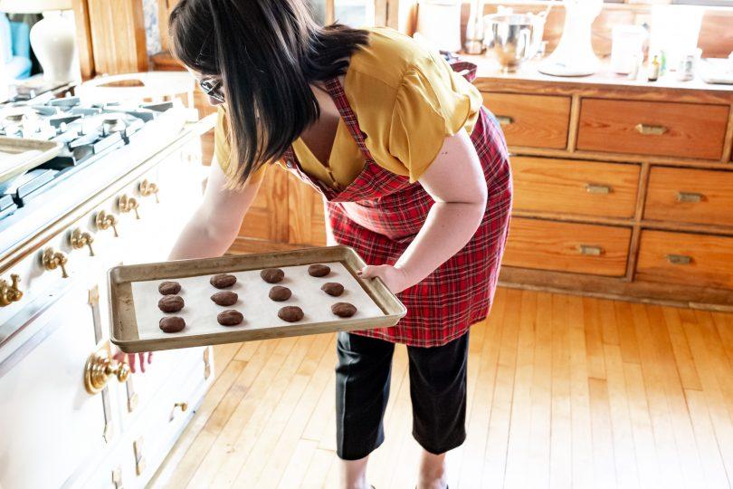 Baking Cookies in a La Cornue CornuFé Oven   Making it Lovely