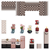 Lovely Stardew Valley Kitchen Pixels