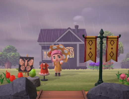A Rainy Day Welcome (Animal Crossing: New Horizons)