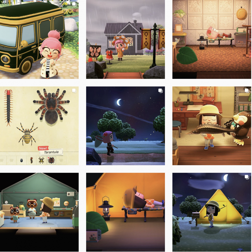 ACLuluLovely Instagram Animal Crossing Account (New Horizons)
