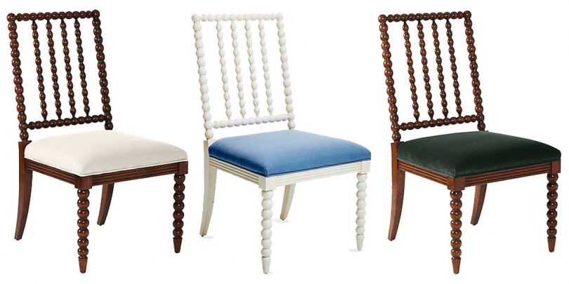 One Kings Lane - Barton Spindle Side Dining Chairs