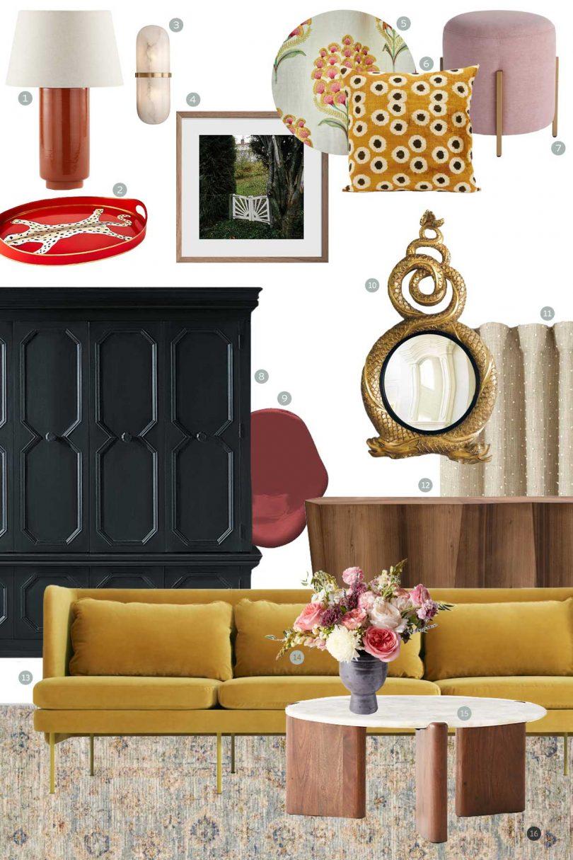 Living Room e-Design, Making it Lovely