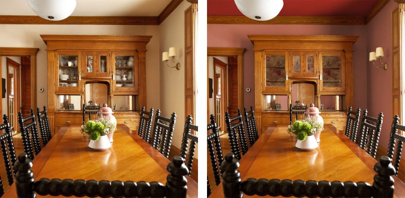 Dining Room Hutch Photoshop Mockup | Making it Lovely