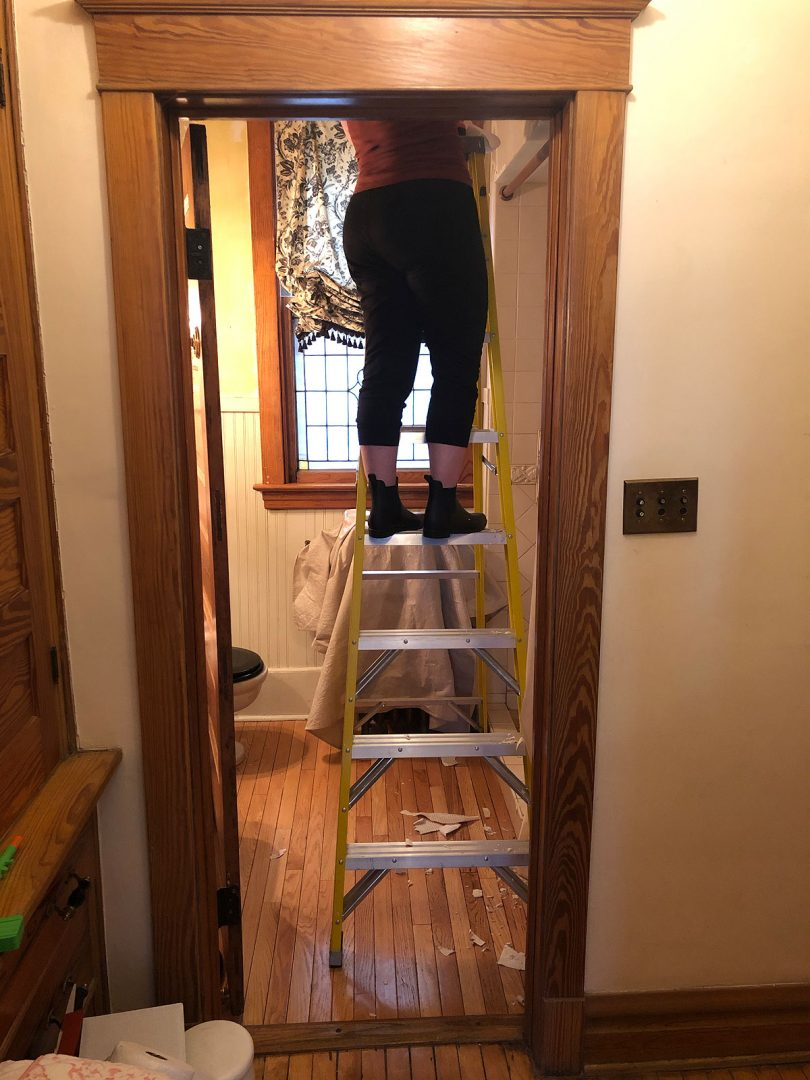 Ladders are handy