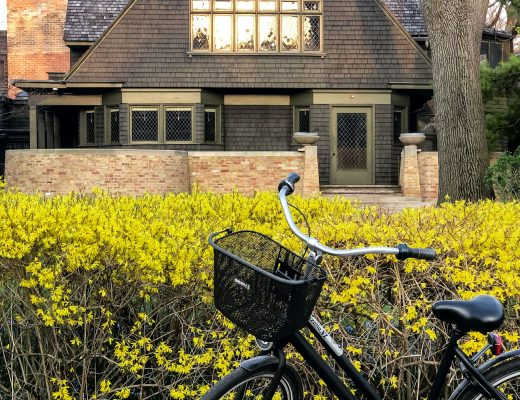 Dutch Bike | Gazelle Bicycle | Frank Lloyd Wright Home and Studio in Oak Park, IL | Making it Lovely
