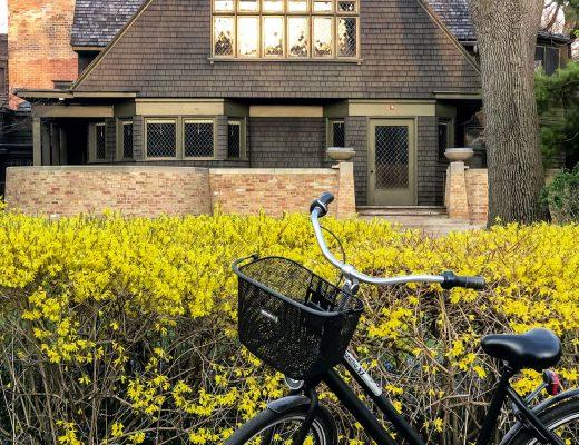 Dutch Bike | Gazelle Bicycle | Frank Lloyd Wright Home and Studio in Oak Park, IL | Making it Lovely