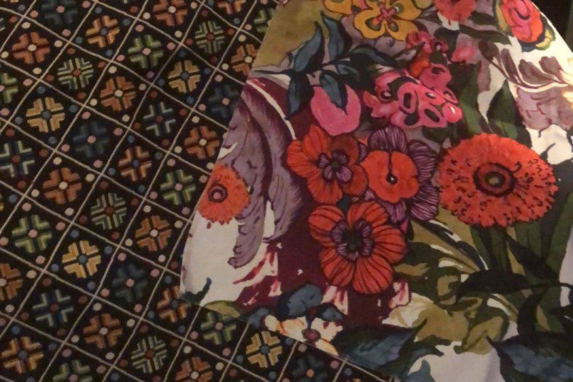 Calico Corners Fabric Options - Granny Squares Scalamandre and Bold Floral