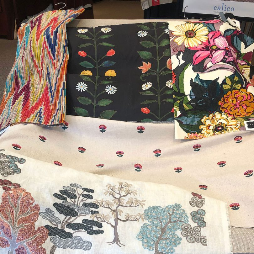 Fabric Swatches at Calico Corners